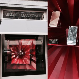 ARMANI LA MELA COVER WINDOW